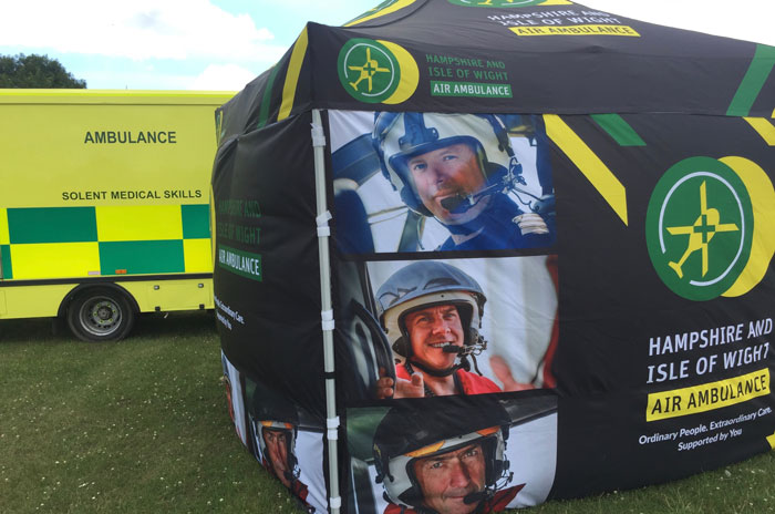 Celebrating 10 years of Hampshire and Isle of Wight Air Ambulance