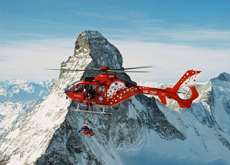 Introduction to Helicopter Rescue: New course at the Matterhorn for 2019